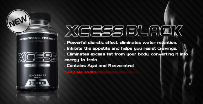 Xcess Black 120 caps